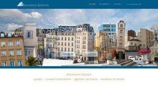 Site d'agence immobilière