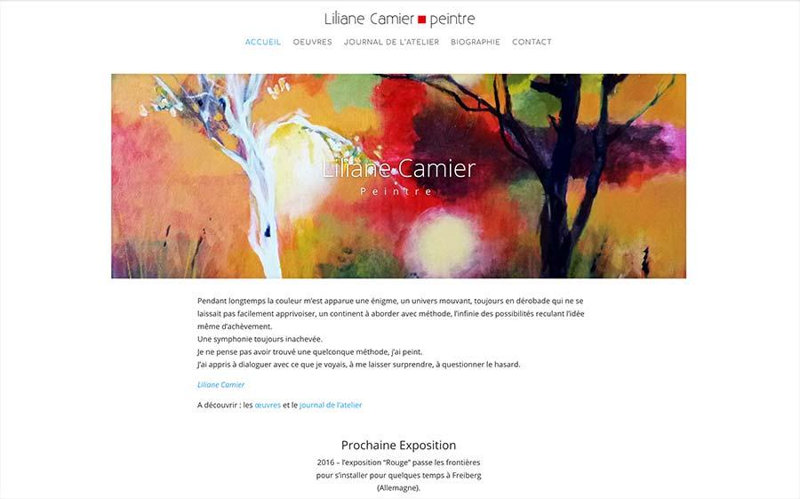artiste lilliane Camier