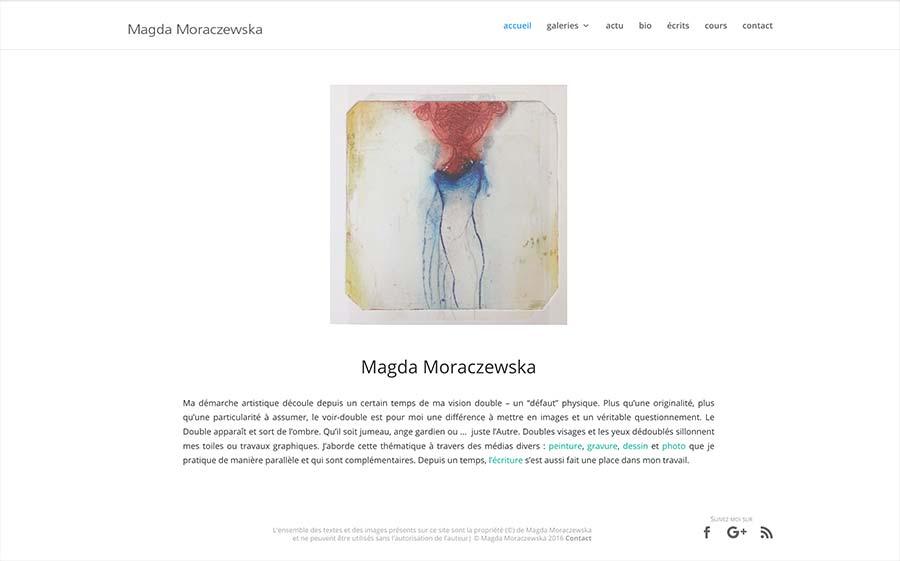 artiste Magda Moraczewska