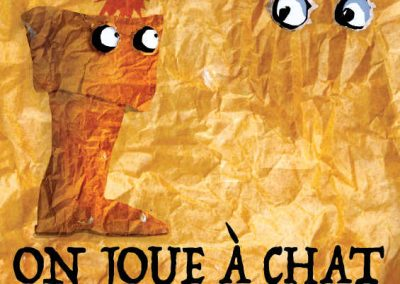 Affiche On joue à chat