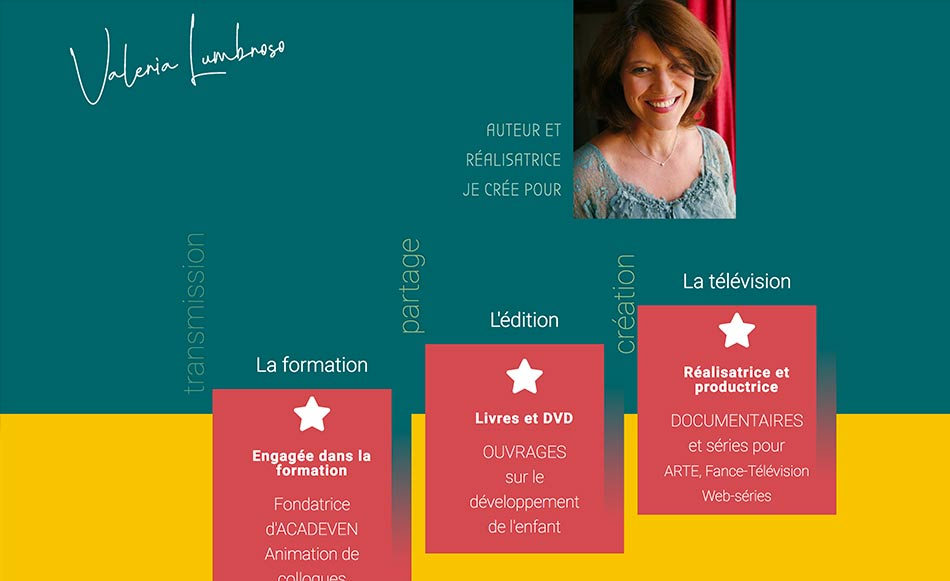 Site de Valérie Lumbroso - réalisatrice